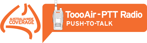 ToooAir-PTT Push-to-Talk radios
