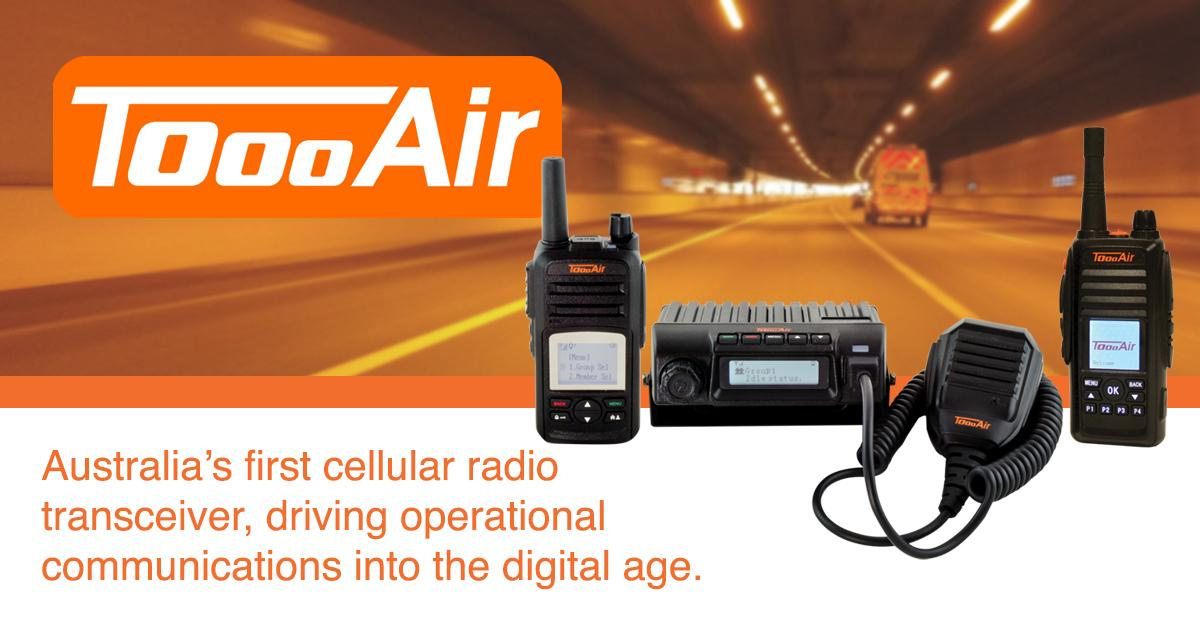 Australia's first cellular radio transceiver