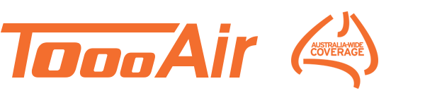 Toooair Australia Wide Coverage Logo